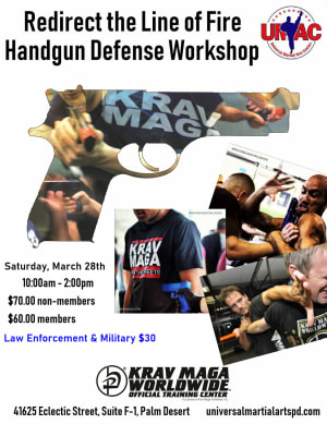 Hand Gun Defense Workshop