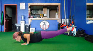 Form Friday: TRX One-leg Suspended Push-up