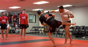 Excellent Kickboxing seminar with Marcio Navarro!