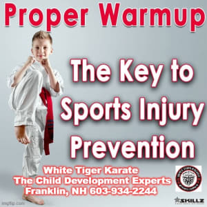 Proper Warmup – The Key to Sports Injury Prevention