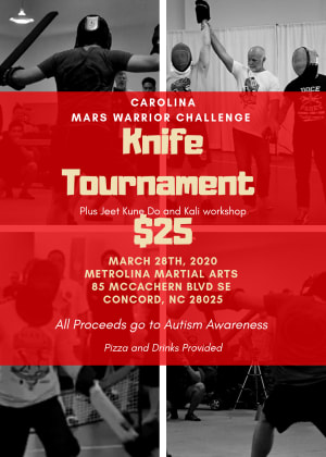 Knife Fighting Benefit/Tournament