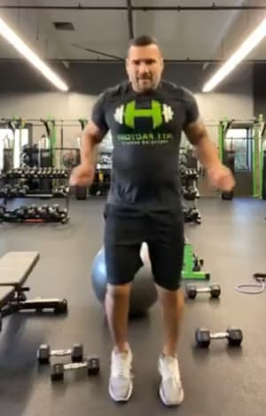 Live Stream Workout by Paul Rubio - Cardio/Core