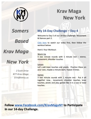 Day 5 - My 14-Day Challenge