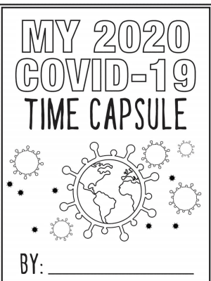 For kids and parents: Covid-19 2020 Time Capsule Journal PDF