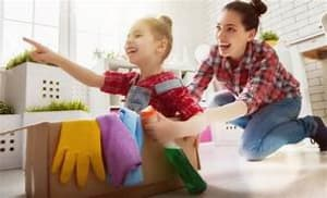 Make Spring Cleaning Fun With Your Children