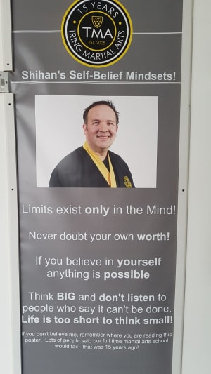 Shihan's Self Belief Mindsets - If You Believe In Yourself Anything Is Possible