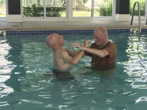 81 Year Old Student Continues Training