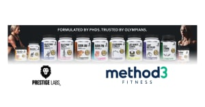 Method3 Fitness Now A Proud Distributor of Prestige Labs!