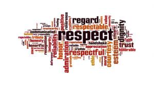 What Do We Teach: Respect