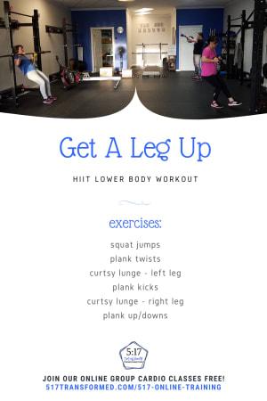 Workout of the Week: Get A Leg Up