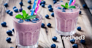 Blueberry Protein Smoothie Recipe for Weight Loss & Health