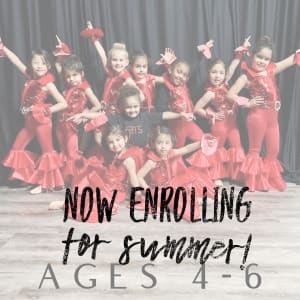 Dance Classes for ages 4-6!