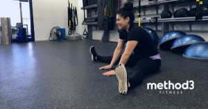 Seated Straddle: Best Stretch For Hamstrings, Hips, & Back