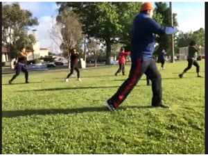 TaeBo In The Park Saturday Morning Workoutside