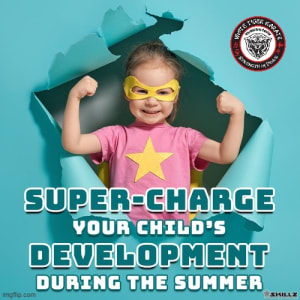 Super-Charge Your Child's Development  During the Summer