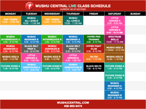Additional Class Times Starting June 27