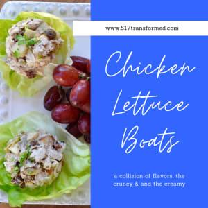 Recipe of the Week: Chicken Lettuce Boats