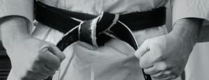 QUALITIES OF A BLACK BELT – HAPPY BUT NOT SATISFIED