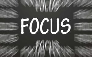 Having TOP NOTCH FOCUS