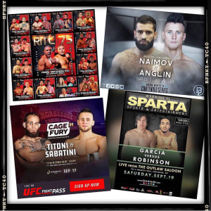 UPCOMING FIGHT SCHEDULE: