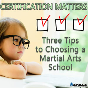 Three Tips to Choosing a Martial Arts School