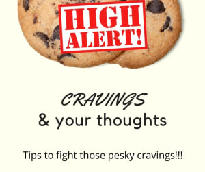 These thoughts can make your cravings stronger...