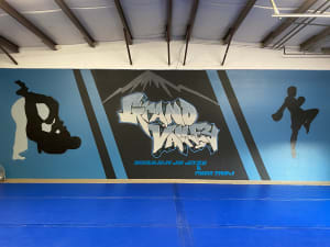 Grand Valley BJJ Represents Mural Artist Johnny Sales