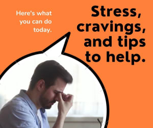 Do you do this when you feel stressed out?