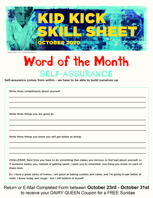 Word of the Month for October