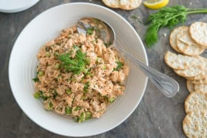 High Protein Canned Salmon Salad