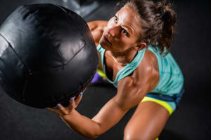 For a good workout....try the medicine ball