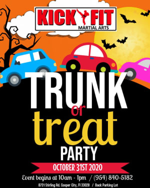 Kickfit Trunk or Treat Party