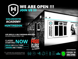 NEW COVID SECURE CENTRE - Huntingdon Academy is Now Open