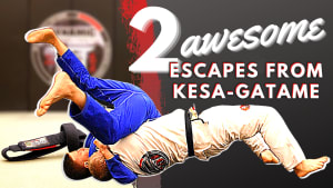 2 Awesome Kesa-gatame Escapes