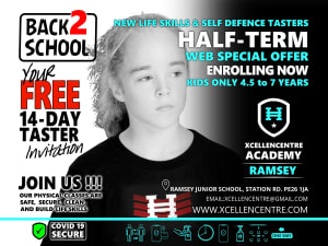 New FREE 14-day tasters - Ramsey Academy Web ONLY - Half-term Offer - 4.5 to 7 years