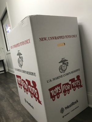 Toys For Tots is now up and running!