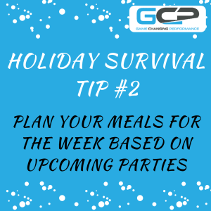 Holiday Nutrition Survival Guide Tip #2