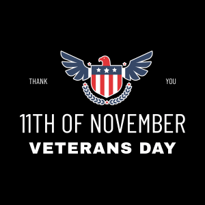 Happy Veterans's Day!