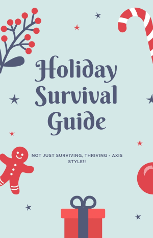 "The ""New Extraordinary"" holiday survival checklist inside"