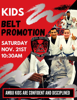 Youth Belt Promotion-Fall 2020