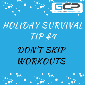 Holiday Nutrition Survival Guide Tip #4