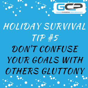 Holiday Nutrition Survival Guide Tip #5
