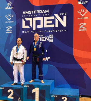 Chris Bower claims Gold in Amsterdam!