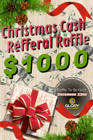 $1000 Christmas Cash Raffle