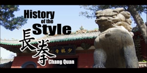 History of The Style: Chang Quan