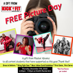 FREE Picture Day from Kickfit Martial Arts