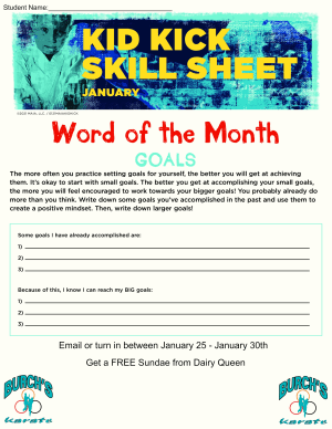 January 2021 Word of the Month