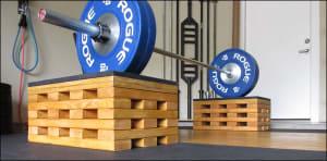 DIY Weightlifting Blocks