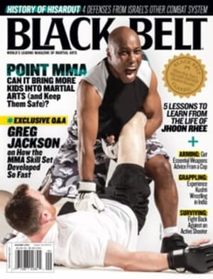 See Point MMA Featured in Black Belt Magazine