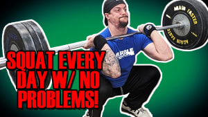 How to Squat Everyday with Success!